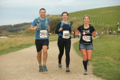 Running with Clare and katie in 2017