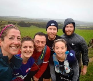 It was wet and Muddy but great fun